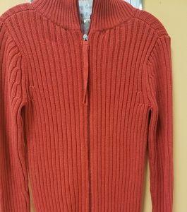 MODA International red double zipped Sweate Dress